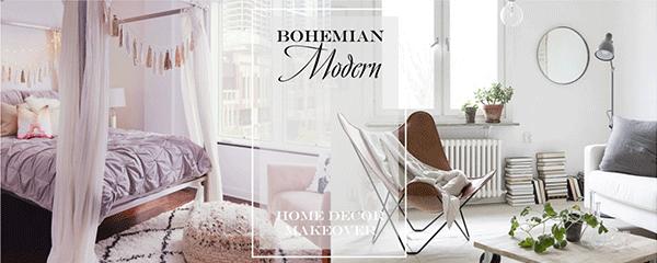 Bohemian Modern Home banner